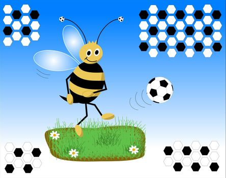 Soccer bee
