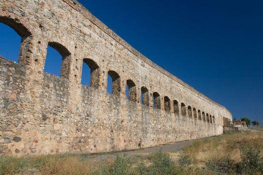 St. Lazaro's aqueduct of Mérida ( Emérita Augusta )