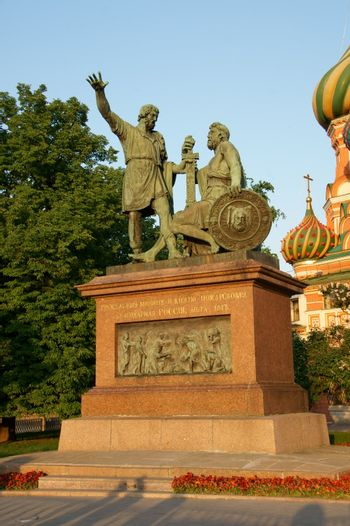 Monument of Mininu and Pozharsky