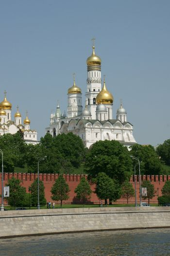 Cathedral in territory of the Kremlin