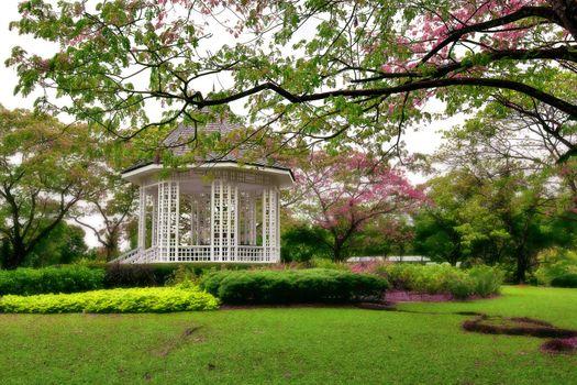 Botanic gardens Bandstand