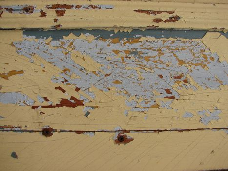 grunge background structures with deteriorating paint