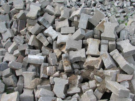 Concrete Stones Background