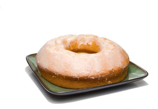 A Lemon Bundt Cake ready for desert.