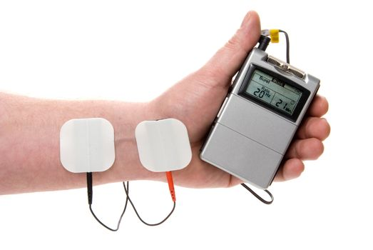 A medical tens unit for the relief of acute pain.