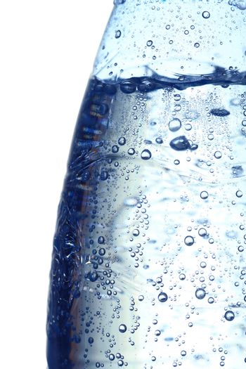 water bubbles close up background
