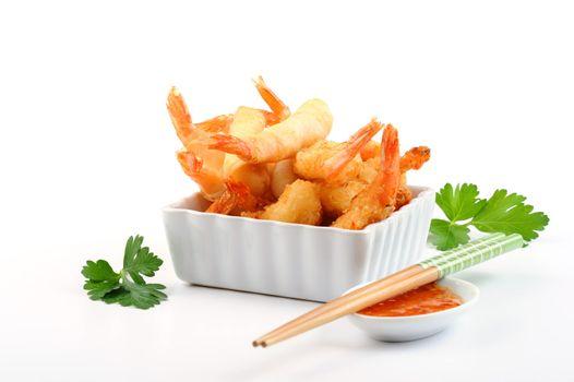 Oriental Fried Shrimp