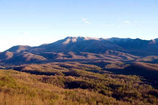 The Appalachian Mountains of the eastern United States