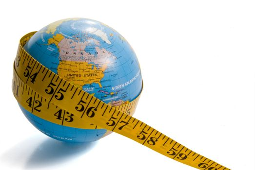 The concept of the overwhelming issue of worldwide obesity.