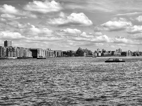 London docks
