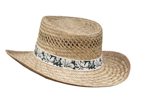 Flax Stetson with Floral Braid