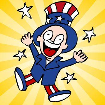 Happy Uncle Sam