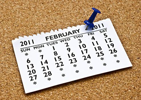 February 2011.