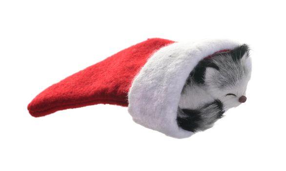 Kitten Christmas stocking