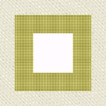 frame with empty square center in sepia brown colors