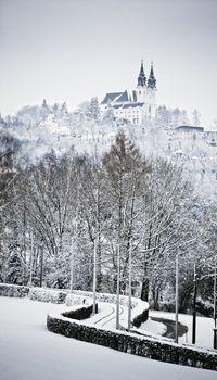 Church at Wintertime