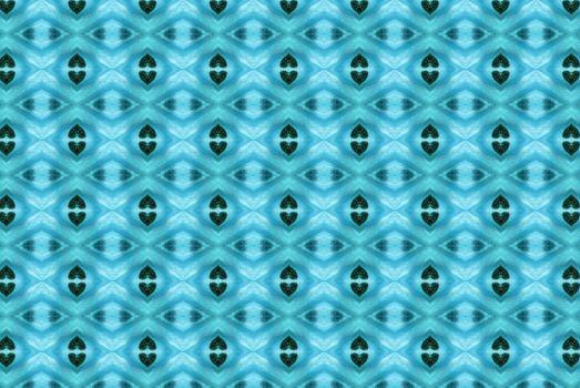 Blue abstract kaleidoscope background