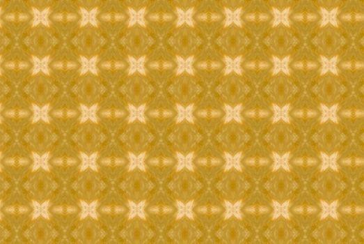 Yellow abstract kaleidoscope background