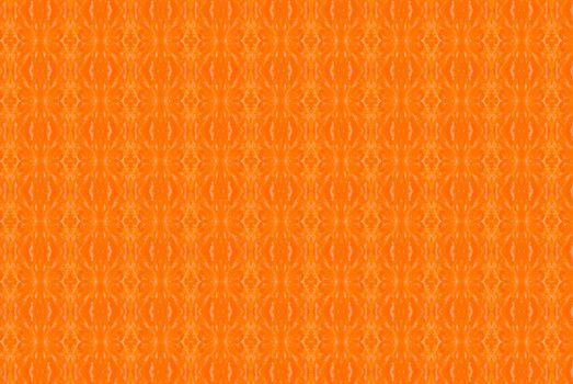 Orange abstract kaleidoscope background