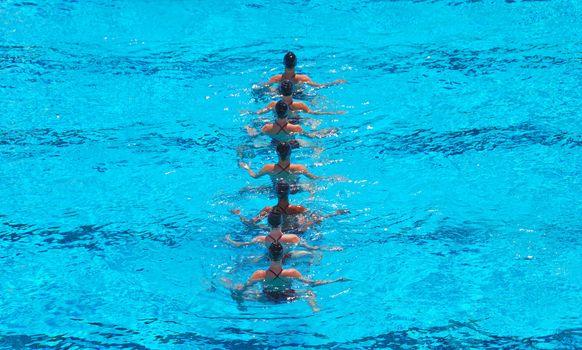 Synchronized Swimming Team