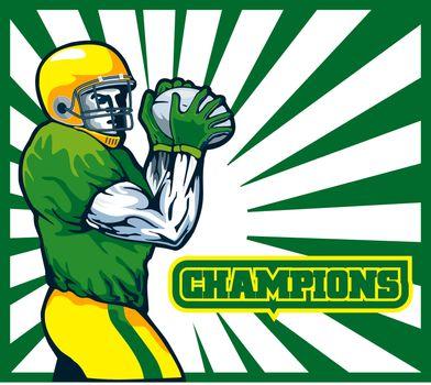 American football player quarterback champion