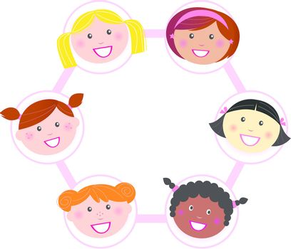 Unity - multi cultural woman group union / network