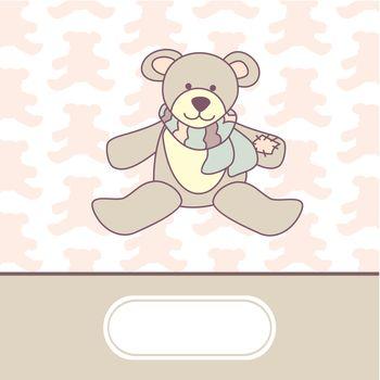 cute baby arrival card