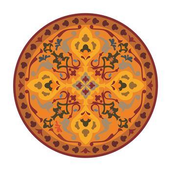 persian circle ornament