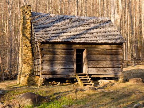 Old cabin in Smoky Mountains