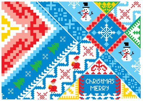 artistic christmas card