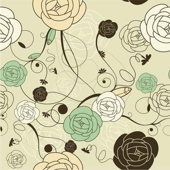 seamless romantic wallpaper