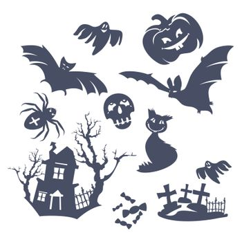 different Halloween icons