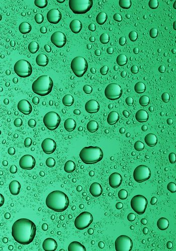 large water drops