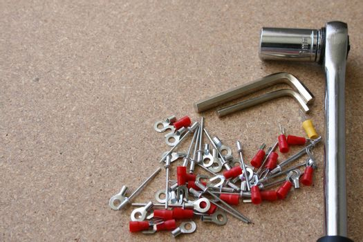 Various tools for DIY jobs around the house
