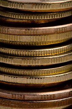 coins closeup