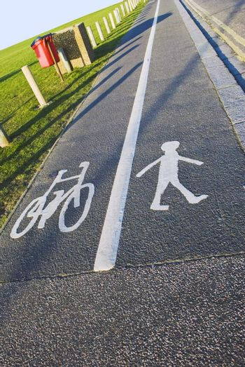 Dual Lane - Cyclists and Pedestrians