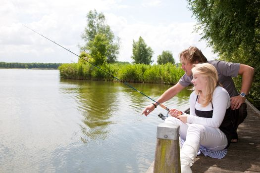 Fishing instructions