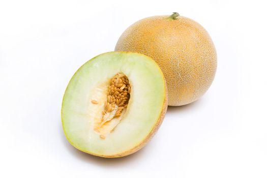 Melon honeydew and a half