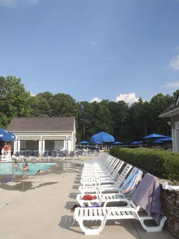 Neighborhood pool in Georgia, USA