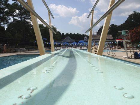 Neighborhood pool in Georgia, USA
