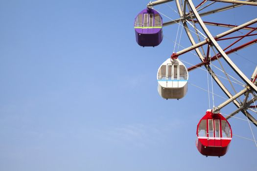 Blue Sky and Ferris wheel