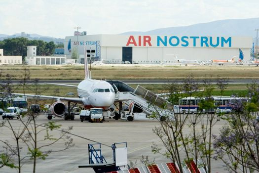 Air Nostrum in Valencia, Spain airport