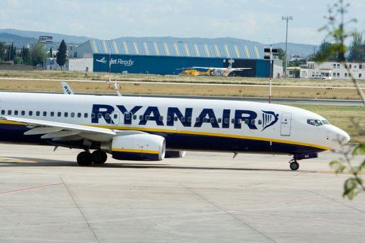 RyanAir at Valencia Airport