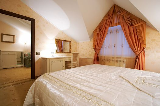 Beautiful and rich rooms in modern hotel