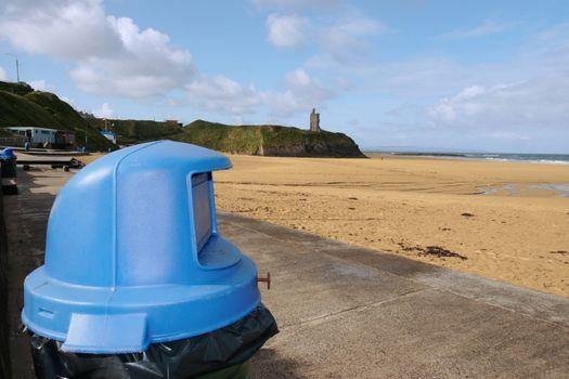 tidy beach