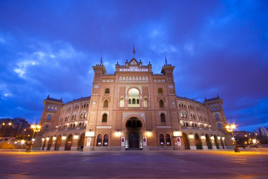 Bullfighting arena in Madrid, Las Ventas