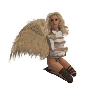 Blonde Rebel Angel