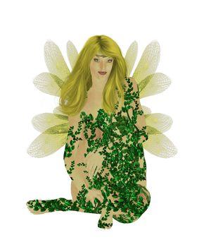 Translucent Yellow Fairy