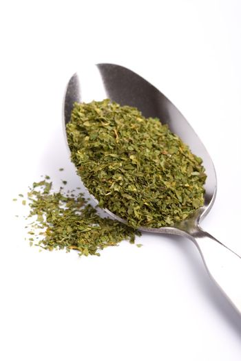 spoon with ground spice