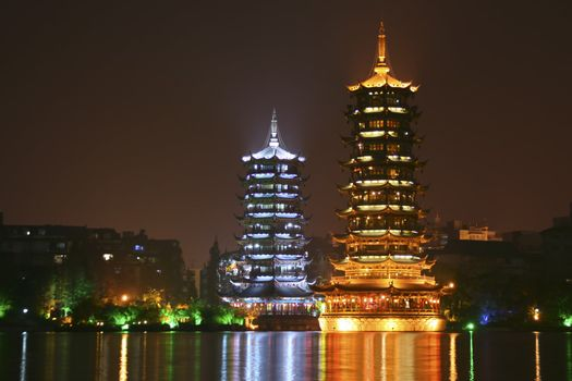 Pagodas in China